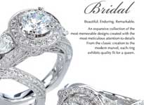 Bridal Jewelry from 5th Avenue Jewelers - A unique boutique jewelry store located in Fresno,Ca.